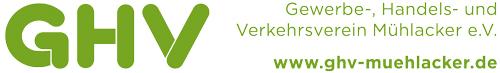 GHV – Gewerbe-, Handels- und Verkehrsverein Mühlacker e.V. Logo